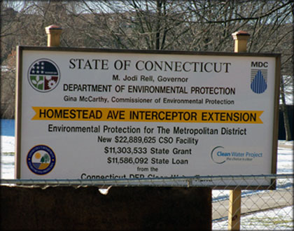 Homestead Avenue Interception Extension Project